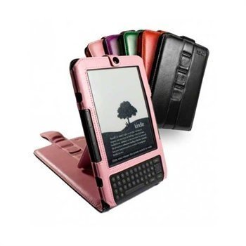 Amazon Kindle 3 Multi-View Napa Leather Case & Stand 6 Pink