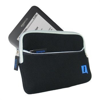 Amazon Kindle 3 Wi-Fi iGadgitz Neopreenisalkku Musta