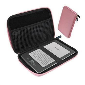 Amazon Kindle 4 iGadgitz Hard Case Pink