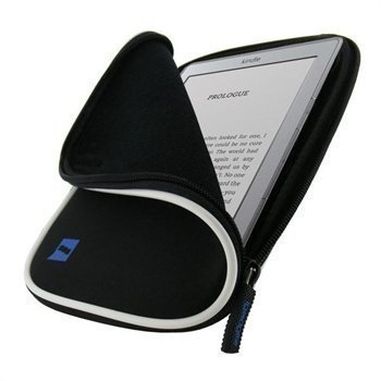 Amazon Kindle 4 iGadgitz Neoprene Sleeve Black