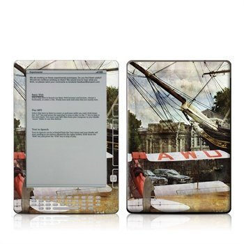 Amazon Kindle DX Cutty Moth Skin
