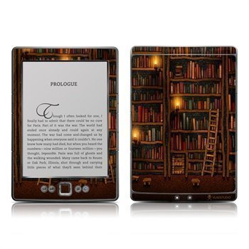 Amazon Kindle Fire 4 Flying Tree Blue Skin