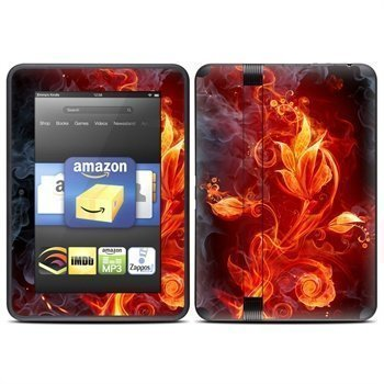 Amazon Kindle Fire HD 7 Flower Of Fire Skin