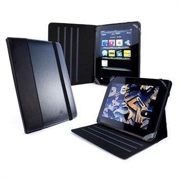 Amazon Kindle Fire HD 7 Tuff-Luv Tekonahkainen Kotelo Grafiitin Harmaa