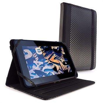 Amazon Kindle Fire HD 7 Tuff-Luv Tekonahkainen Kotelo Musta