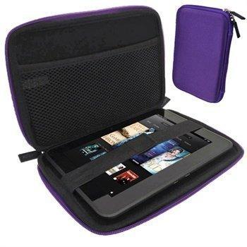 Amazon Kindle Fire HD 7 iGadgitz EVA Kantolaukku Violetti