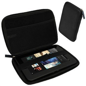 Amazon Kindle Fire HD 7 iGadgitz EVA Travel Case Black