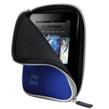 Amazon Kindle Fire HD 7 iGadgitz Neopreenikotelo Sininen