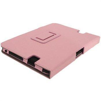 Amazon Kindle Fire HD 7 iGadgitz Portfolio PU-Nahkakotelo Pinkki