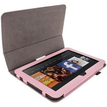 Amazon Kindle Fire HD 8.9 LTE iGadgitz Leather Case Pink