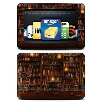 Amazon Kindle Fire HD 8.9 Library Skin