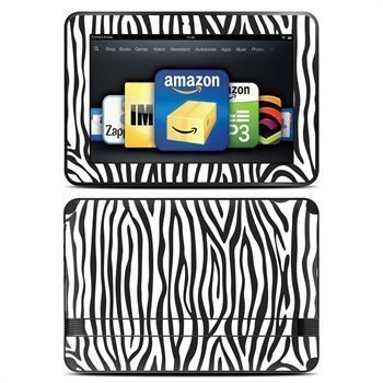 Amazon Kindle Fire HD 8.9 Zebra Stripe Skin