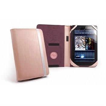 Amazon Kindle Fire Tuff-Luv Embrace Nahkakotelo Vaaleanpunainen