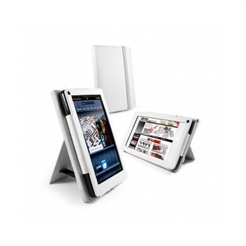 Amazon Kindle Fire Tuff-Luv Leather Case White