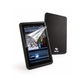 Amazon Kindle Fire Tuff-Luv Silicone Case Black