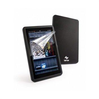 Amazon Kindle Fire Tuff-Luv Silicone Case Black