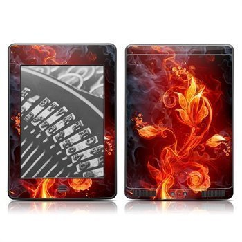 Amazon Kindle Touch Flower Of Fire Skin