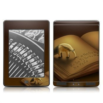 Amazon Kindle Touch Lettereater Skin