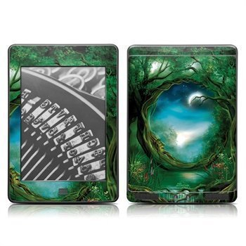 Amazon Kindle Touch Moon Tree Skin