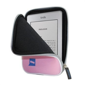 Amazon Kindle Touch iGadgitz Neoprene Sleeve Pink