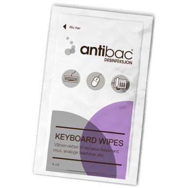 Antibac Antibac Keyboard wipes 80 st
