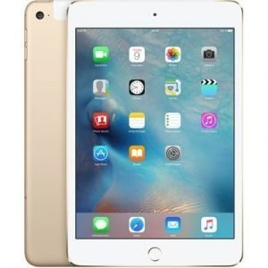 Apple Ipad Mini 4 Wi-fi + Cellular 7.9 128gb Kulta