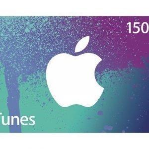 Apple Itunes Gavekort 150 Nok