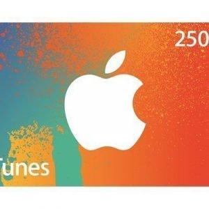 Apple Itunes Voucher 250 Sek