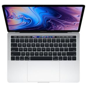 Apple Macbook Pro 13inch With Touch Bar: 2.3ghz Quadcore 8th Gen. Intel core i5 256gb Silver