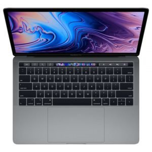 Apple Macbook Pro 13inch With Touch Bar: 2.3ghz Quadcore 8th Gen. Intel core i5 256gb Space Grey