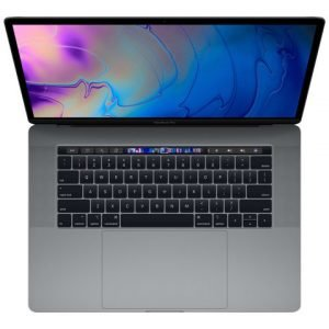 Apple Macbook Pro 15inch With Touch Bar: 2.6ghz 6core 8th Gen. Intel core i7 512gb Space Grey