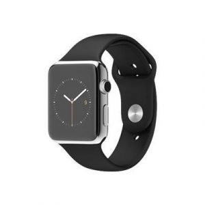 Apple Watch 42mm With Sport Band Musta