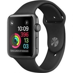 Apple Watch Series 2 38mm Alumiininen Urheiluranneke Avaruuden Harmaa