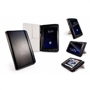 Archos 101 G9 8 GB 16 GB 250 GB Tuff-Luv Tri-Stand Nahkakotelo Musta