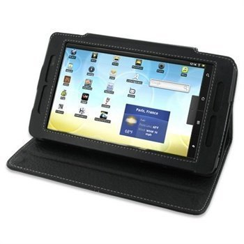 Archos 70 Flash Serie PDair Leather Case 3BAR7BBX2 Musta