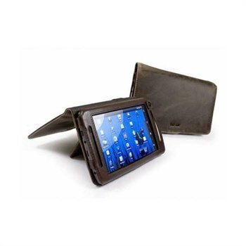 Archos 70 Tuff-Luv Saddleback Leather Case Brown