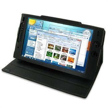 Archos 9 PDair Leather Case Black