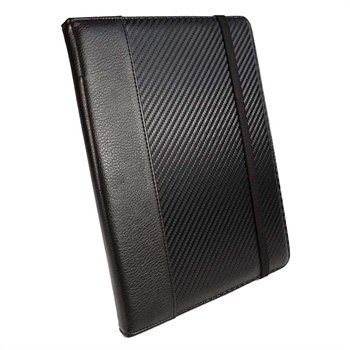Archos Elements 97 Titanium HD Tuff-Luv Slim-Stand Nahkakotelo Musta