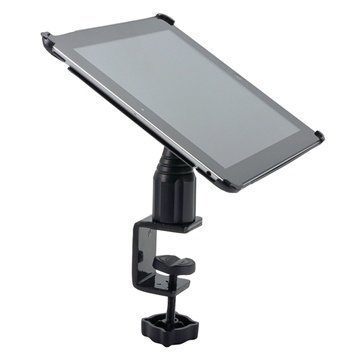 Arkon IPM3-086 Heavy-Duty Tablet Holder iPad 4 iPad 3 iPad 2 C-Clamp Mount