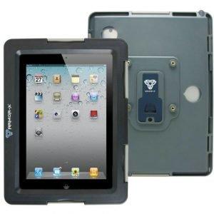 Armor-X iPad ja Galaxy Tab / Note Vedenkestävä Suojakotelo X-Mount kiinnityksellä