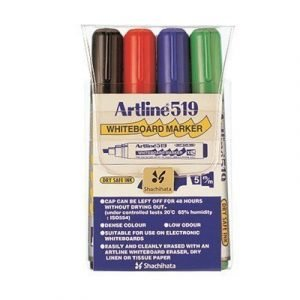 Artline Whiteboard Pen 519 4-set