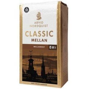 Arvid Nordqvist Kaffe Classic Brygg Mellanrost 500g 12-pack