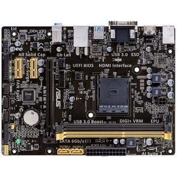 Asus AM1M-A AMD Socket AM1 Micro ATX Emolevy