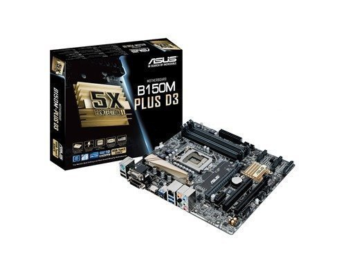 Asus B150m-plus D3 Lga1151 Socket Mikro Atx