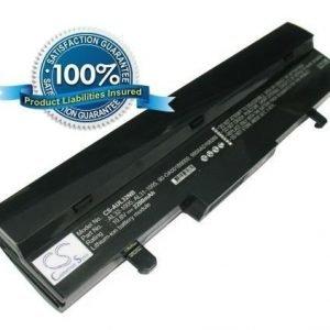 Asus Eee PC 1005HA 1005PE 1005PE 1001HA 1101HA R101 R105 R1001 R1005 akku 2200 mAh musta