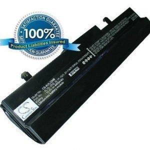 Asus Eee PC 1005HA 1005PE 1005PE 1001HA 1101HA R101 R105 R1001 R1005 akku 4400 mAh musta