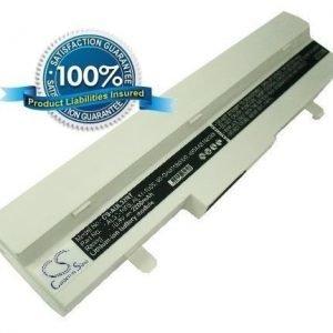 Asus Eee PC 1005HA akku 2200 mAh - Valkoinen