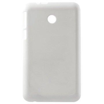 Asus Fonepad 7 FE375CG Glossy TPU-Suojakuori Valkoinen
