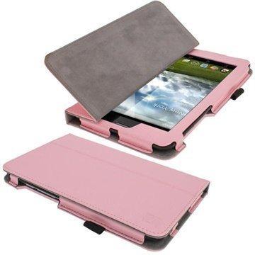 Asus Fonepad iGadgitz Ergo-Portfolio PU Leather Case Pink