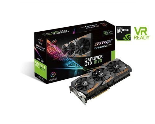 Asus Geforce Gtx 1070 Strix Gaming 8gb